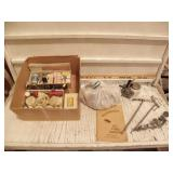BOX OF SEVERAL FLY TYING ITEMS