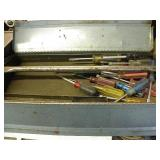 TOOL BOX WITH SCREWDRIVERS