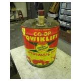 QWICKLIFT OIL CAN