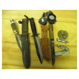 KNIVES, COMPASS