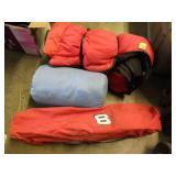 SLEEPING BAGS, FOLDING CHAIR