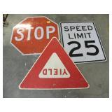 METAL STREET SIGNS