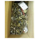 LARGE BOX FULL OF BRASS CONECTORS