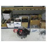 SEVERAL BOXES OF WIRE AND PARTS