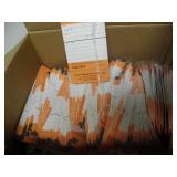 BOX FULL OF REPAIR TAGS