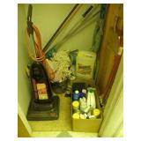 CLOSET FULL OF CLEANING SUPPLIES