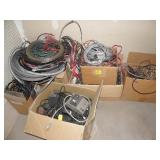 BOXES FULL OF WIRE