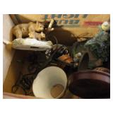 MISC FIGURINES, SEWING, MORE