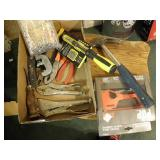 MISC TOOLS, VISE GRIPS, HAMMER