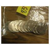 11 SAC DOLLARS, 1 SUSAN B DOLLAR