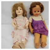 Vintage Composite and Rubber Dolls