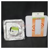 Stove Burner Covers and Aluminum Foil Bibs
