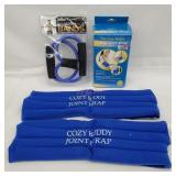 Resistance Bands and large Joint Wrap
