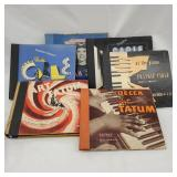 Vintage 78 rpm record albums