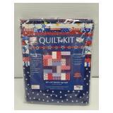 New Simple Quilts Patriotic Lap Quilt Kit