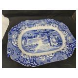 Large Spode Blue Italian Serving Platter