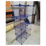 8 Cube Wire Storage Cubby