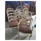 5 Ladderback Dining Chairs