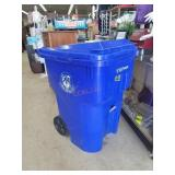 96 Gallon Rolling Dumpster Garbage Can