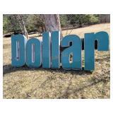 """Dollar"" Lighted Sign Box"