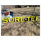 Sur-Tel Lighted Box Sign