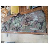Camouflage Allen Number 661 Cloth Bow Case
