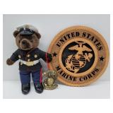 3 United States marines collectibles