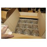 12 PCS MEASURING GLASS BEAKERS