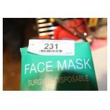 2 - BOXES (50EA) SURGICAL FACE MASKS