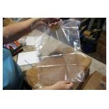 CASE OF 12 X 16 CLEAR BAGS