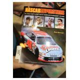 2 BOOKS - NASCAR SUPER STAR