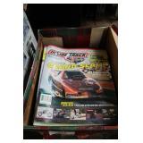 BOX OF CAR MAGAZINES