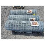 3 Rolls of 4ft high x 100ft long Horse Fence