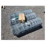 3 rolls of 4ft high x 330ft long field fence