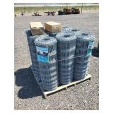 9 Rolls of 41 Inch x 330 ft high Field fence