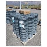 9 Rolls of 4ft high x 330 ft long field fence