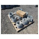 9 Rolls of Barbless Horse wire