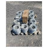 12 Rolls of Barbless wire