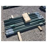 100- 6ft T-Posts with clips