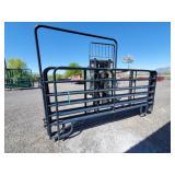 3- 12ft, 1-10ft, panels w/ 6x6ft walk-thru gate