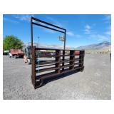 9- 12ft Brown Panels w/ 2- 6x6 walk thur gates