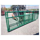 1-6ft, 1-10ft, 2-16ft, Green wire filled gates