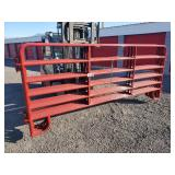 6-12ft Red Panels