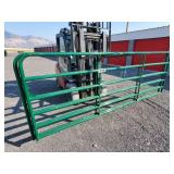 2-12ft green gates