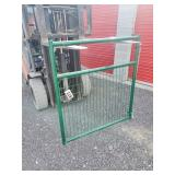 4ft Green Wire Filled Gate