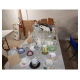 Glass ware and Ceramics