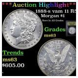 *Highlight* 1888-s vam 11 R5 Morgan $1 Graded Sele