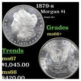 1879-s Morgan $1 Grades GEM++ Unc
