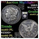 *Highlight* 1883-s Morgan $1 Graded Select Unc PL
