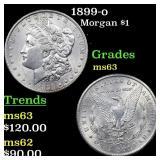 1899-o Morgan $1 Grades Select Unc
